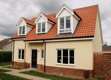 Thumbnail 3 bed detached house for sale in West Row, Bury St. Edmunds, Suffolk