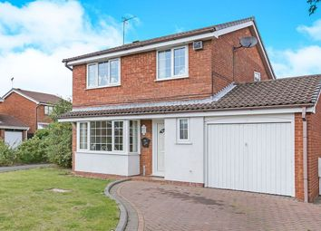 Thumbnail 3 bed detached house for sale in Clover Dale, Perton, Wolverhampton