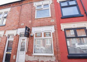 Thumbnail 3 bed terraced house to rent in Asfordby Street, Leicester