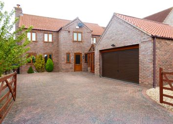 Thumbnail 4 bed detached house for sale in The Drift, Walcott, Lincoln