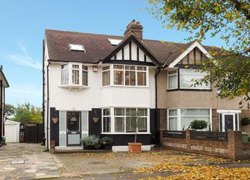 Thumbnail 4 bed semi-detached house for sale in Morden Way, Sutton