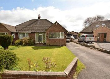 Thumbnail 2 bedroom semi-detached bungalow for sale in The Fairway, Stanningley, Leeds