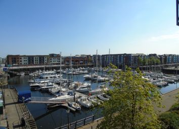 Thumbnail 2 bed flat to rent in Cork House, Marina, Swansea.