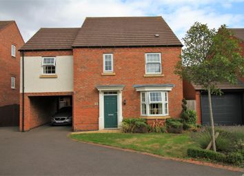 Thumbnail 4 bedroom detached house for sale in Luke Jackson Way, Stanton Under Bardon, Markfield