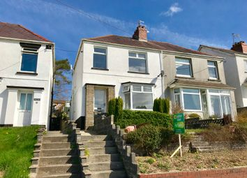 Thumbnail 3 bedroom semi-detached house for sale in Carmarthen Road, Fforest, Swansea