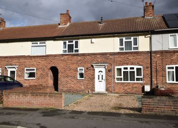 Thumbnail 3 bed terraced house for sale in Allenby Crescent, Rossington, Doncaster