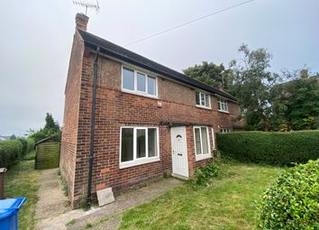Thumbnail 3 bed semi-detached house to rent in Bailey Crescent, Mansfield