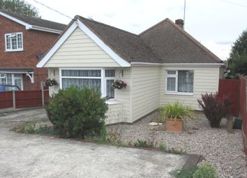 Thumbnail 1 bed detached bungalow to rent in Southend Road, Hockley, Essex