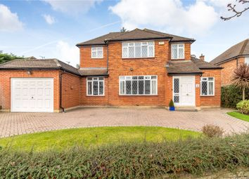 Thumbnail 4 bed detached house for sale in Heronslea Drive, Stanmore