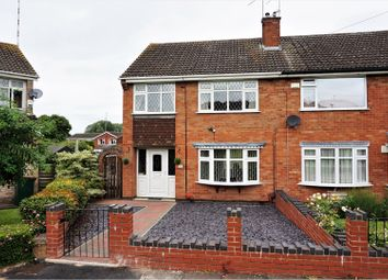Thumbnail 3 bed semi-detached house for sale in Horninghold Close, Coventry