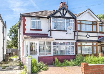Thumbnail 3 bed semi-detached house for sale in Culver Grove, Stanmore, Middlesex
