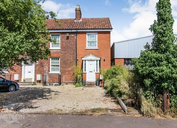 Thumbnail 3 bed semi-detached house for sale in School Lane, Sprowston, Norwich