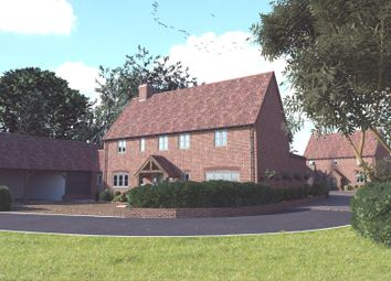 Thumbnail 4 bedroom detached house for sale in The Street, Stradishall, Newmarket