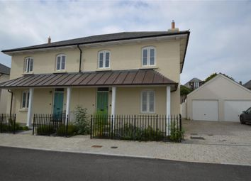 Thumbnail 3 bed semi-detached house to rent in Stret Caradoc, Newquay, Cornwall
