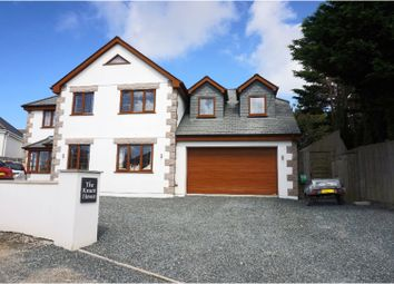 Thumbnail 5 bed detached house for sale in Treninnick, Newquay