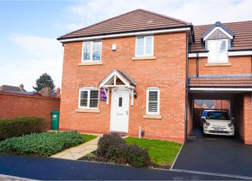 Thumbnail 4 bedroom semi-detached house for sale in Redmires Close, Walsall