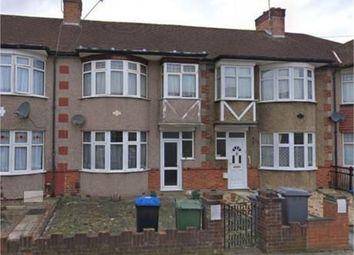 Thumbnail 3 bedroom terraced house to rent in Elms Park Avenue, Sudbury Hill, Harrow