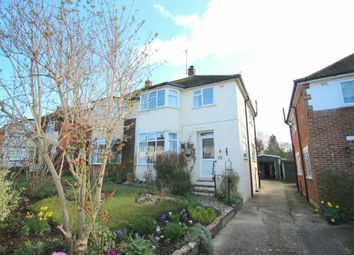 Thumbnail 3 bed semi-detached house for sale in Farm Avenue, Horsham