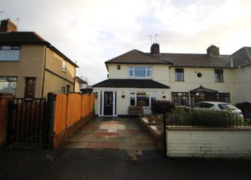 Thumbnail 2 bed end terrace house for sale in Hulton Avenue, Whiston, Prescot, Merseyside