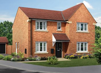 "Thumbnail 4 bed detached house for sale in ""The Allerthorpe"" at Amos Drive, Pocklington, York"