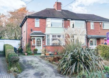 Thumbnail 3 bed semi-detached house for sale in Stallington Road, Stoke-On-Trent