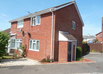 Thumbnail 2 bed semi-detached house for sale in Meadowcroft, Rhoose, Barry