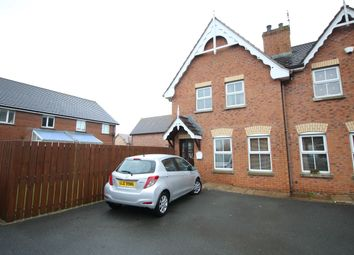 Thumbnail 3 bed terraced house for sale in Ardvanagh Court, Conlig, Newtownards
