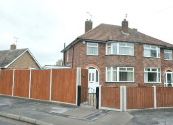 Thumbnail 3 bed semi-detached house for sale in Heybrook Avenue, Blaby, Leicester