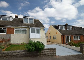Thumbnail 3 bed semi-detached bungalow for sale in Gron Ffordd, Rhiwbina, Cardiff.