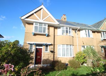 Thumbnail 3 bed semi-detached house for sale in Torr Lane, Hartley, Plymouth
