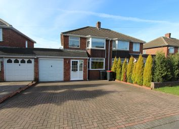 Thumbnail 3 bed semi-detached house to rent in Coronation Road, Hurley, Atherstone