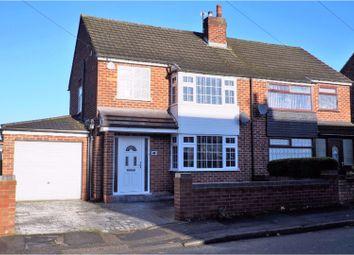 Thumbnail 3 bed semi-detached house for sale in Margaret Avenue, Warrington