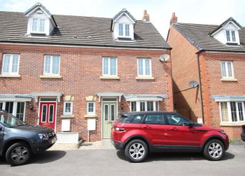 Thumbnail 4 bedroom terraced house for sale in Buccaneer Grove, St. Brides Wentlooge, Newport
