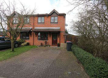 Thumbnail 3 bed semi-detached house for sale in Westfields, Birchmoor, Tamworth, Warwickshire