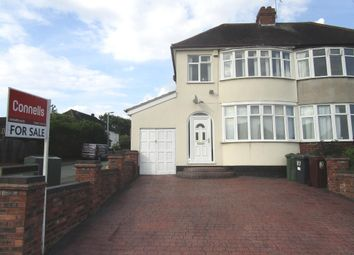 Thumbnail 3 bed semi-detached house for sale in Lynton Avenue, Claregate, Wolverhampton