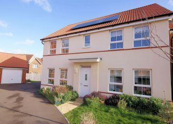 Thumbnail 4 bed detached house for sale in Cockerell Close, Lee-On-The-Solent