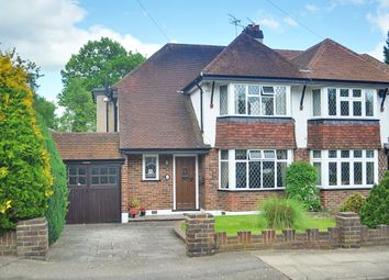 Thumbnail 3 bed semi-detached house for sale in Great Thrift, Petts Wood, Orpington
