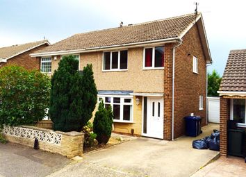 Thumbnail 3 bed semi-detached house for sale in Ashford Close, Guisborough