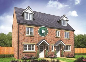 Thumbnail 4 bedroom semi-detached house for sale in Plot 33, Leicester, Cardea, Peterborough