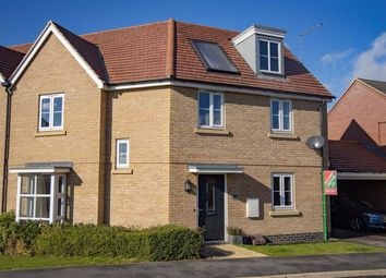 Thumbnail 3 bed semi-detached house for sale in Narrowboat Lane, Northampton