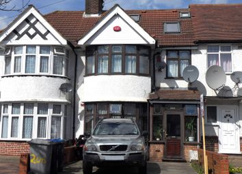 Thumbnail 4 bed terraced house for sale in Princes Avenue, Kingsbury