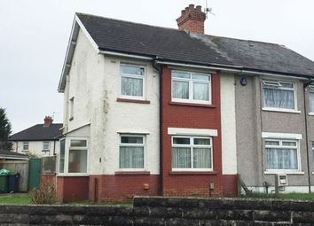 Thumbnail 3 bedroom semi-detached house to rent in Meyrick Road, Ely, Cardiff