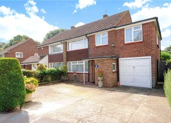 Thumbnail 4 bed semi-detached house for sale in Riverside Drive, Staines-Upon-Thames, Surrey