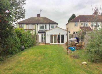 Thumbnail 3 bed semi-detached house for sale in Wolverton Road, Haversham, Milton Keynes
