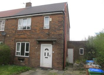 Thumbnail 2 bed semi-detached house to rent in Arkwright Way, Balderstone, Rochdale
