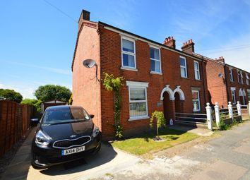 Thumbnail 3 bed semi-detached house for sale in Spriteshall Lane, Trimley St. Mary, Felixstowe