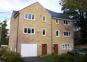 Thumbnail 4 bed town house to rent in The Waterside, Thongsbridge, Holmfirth, West Yorkshire