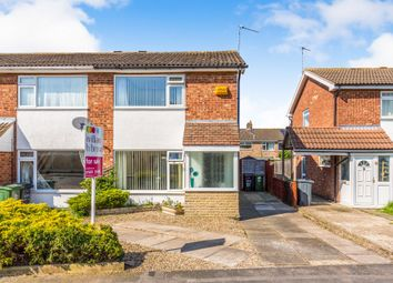 Thumbnail 2 bed semi-detached house for sale in Greensward, East Goscote, Leicester