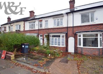 Thumbnail 3 bed terraced house for sale in Short Heath Road, Erdington, Birmingham