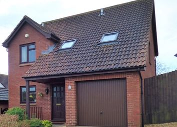 Thumbnail 4 bed detached house for sale in Celandine Close, Seaton